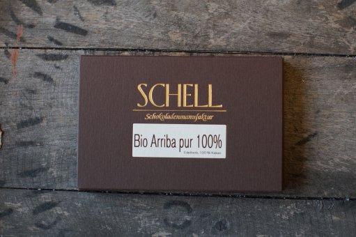 Bio Arriba Pur 100% - Schokolade