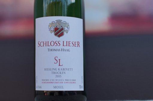 2016er Riesling Kabinett trocken Schloss Lieser