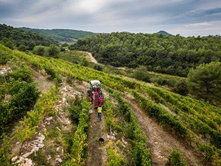 2018er Malmont Séguret rouge Côtes du Rhône Village