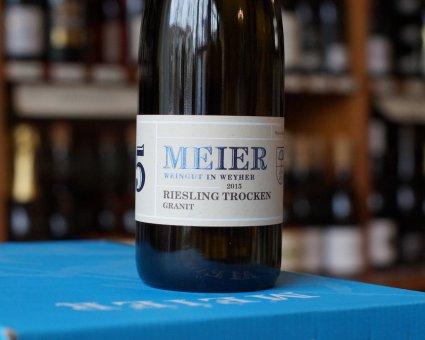"2015er Riesling ""Granit"" Spätlese trocken - Weyher Michelsberg"