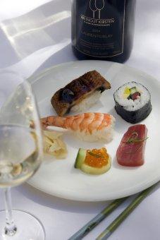 """Online-Wein-Event """"Sushi & Wein"""" @ Home  12.05.2021"""