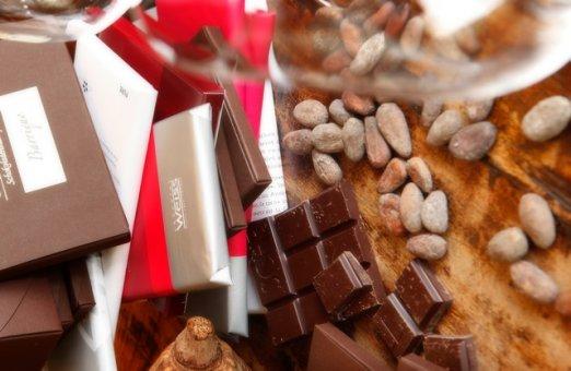 Geschenkgutschein Schokolade & Wein