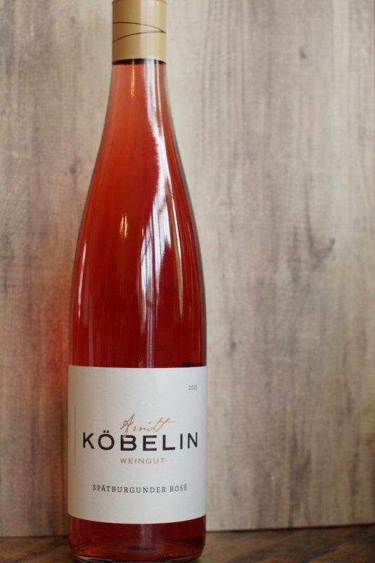 2018er Spätburgunder Rosé trocken, Weingut Köbelin